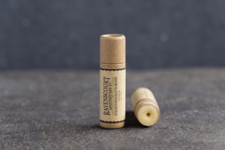 Nightingale's Rose Vegan Lip Balm - front view