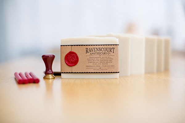 Ravenscourt Apothecary handmade vegan soap