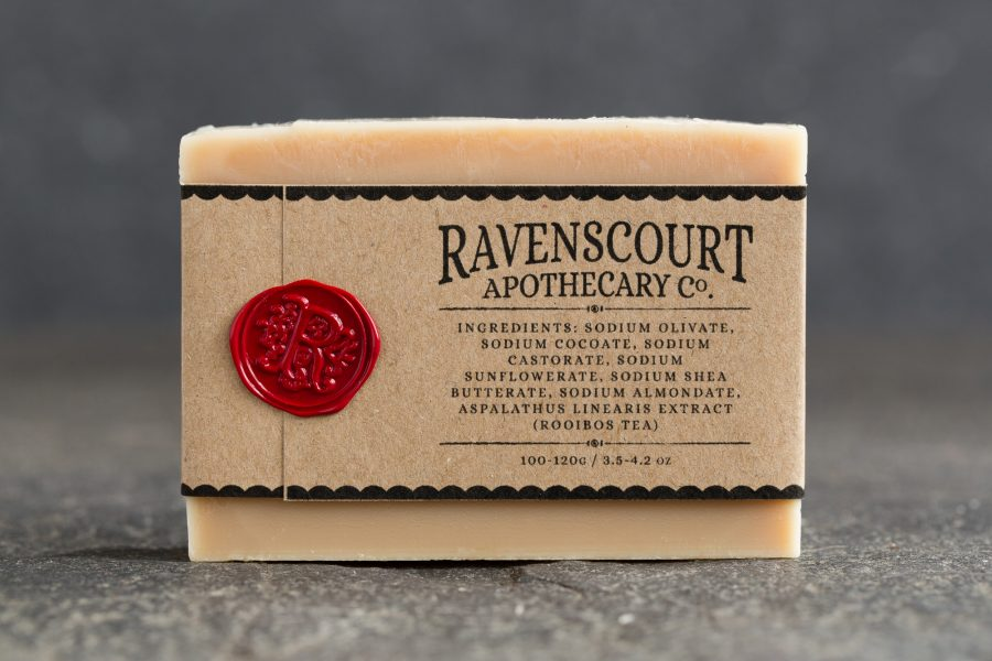 Rooibos soap - back