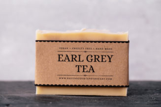 early grey tea soap
