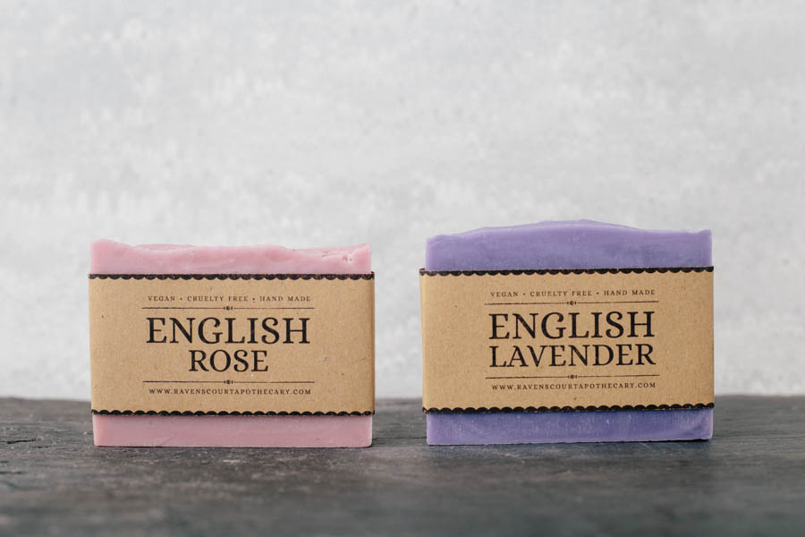 English Garden Soap Set