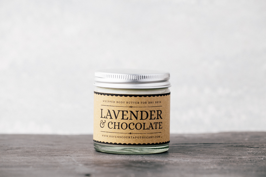Lavender and Chocolate Body Butter