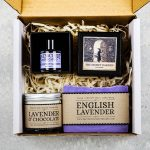 lavender gift set boxed
