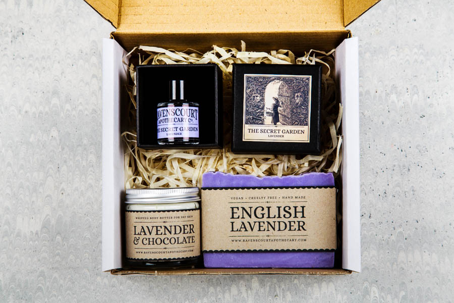lavender gift set boxed
