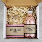 rose gift set in a box