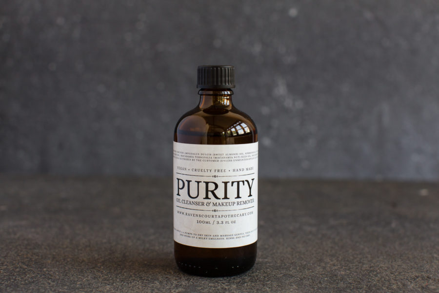 Purity facial oil cleanser - refill bottle