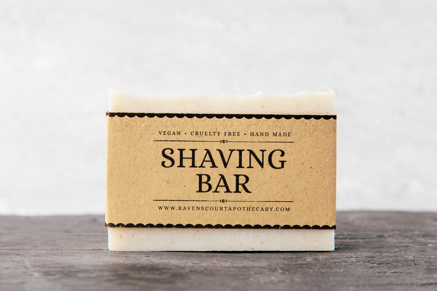 Shaving bar soap ravenscourt apothecary