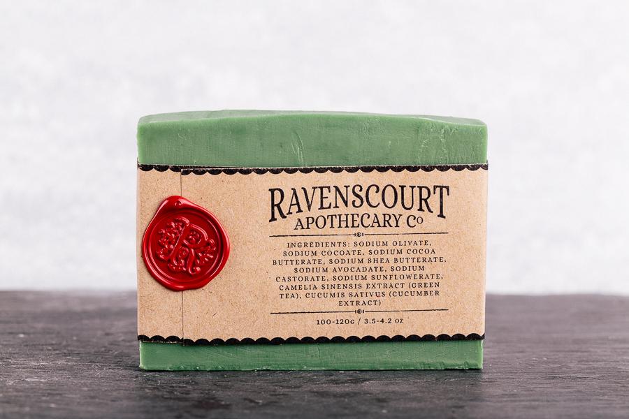 gunpowder green tea soap