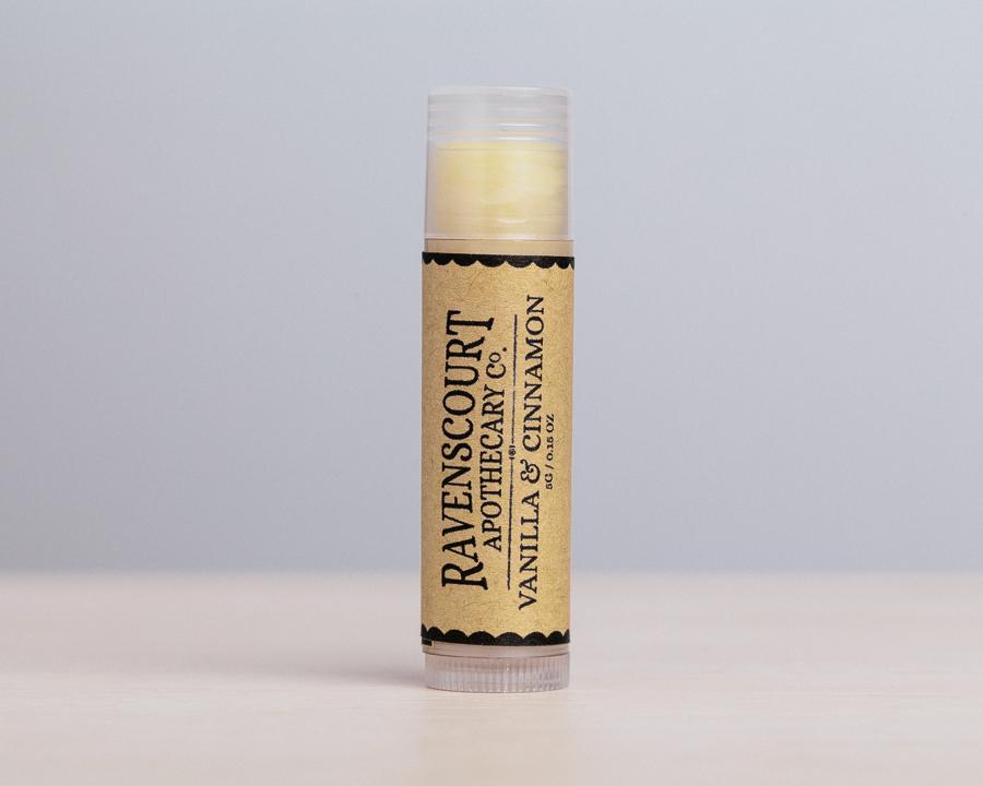 vanilla & cinnamon lip balm