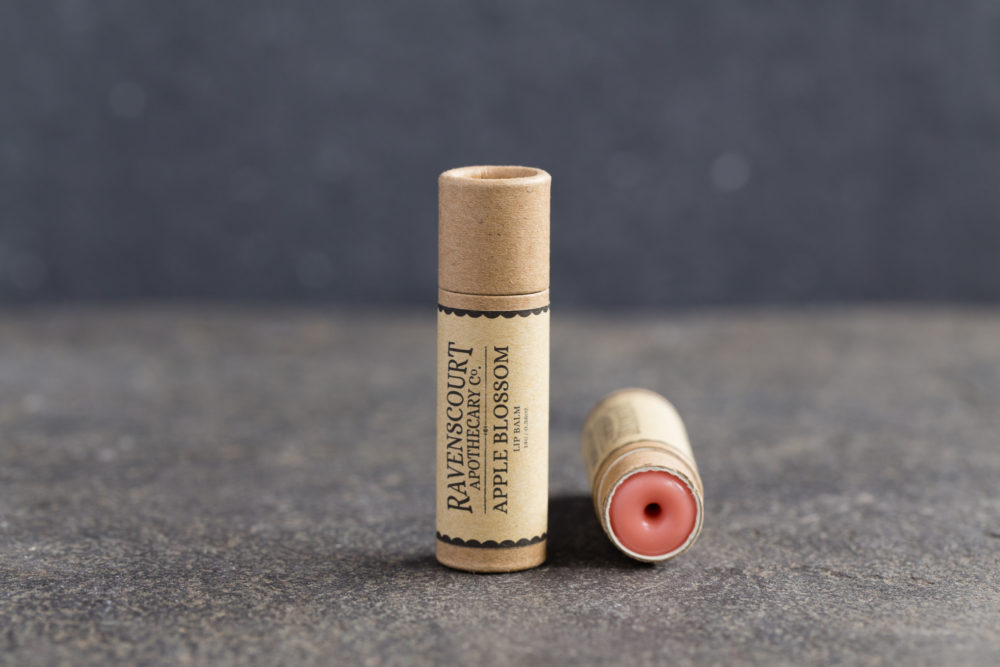 Apple Blossom Lip Balm - front view