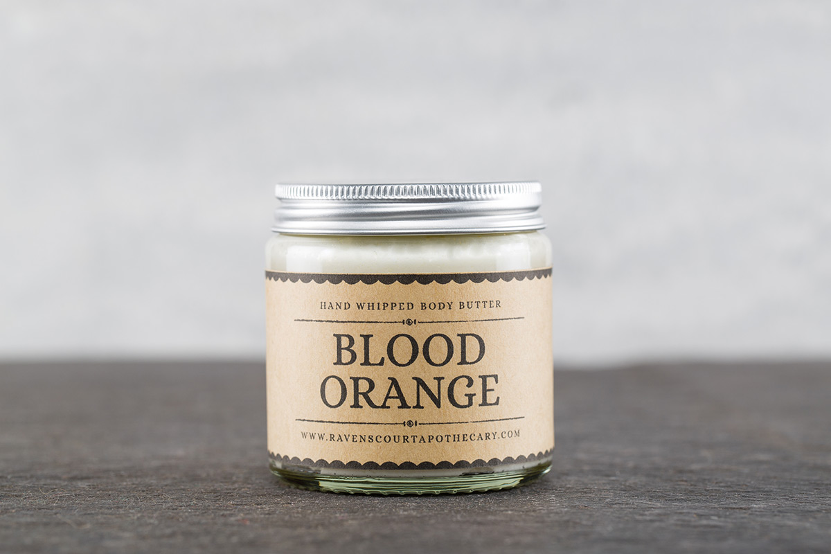Blood Orange Body Butter by Ravenscourt Apothecary
