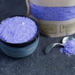 English Lavender Bath Salt 1 kg closeup