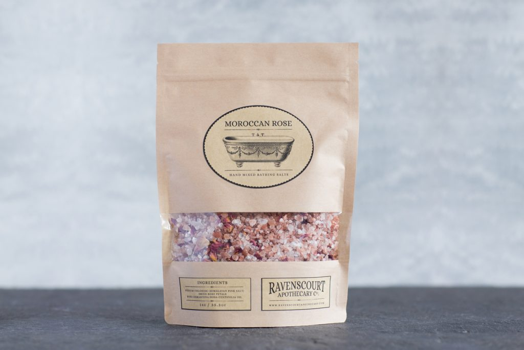 Moroccan Rose Bath Salt 1 kg