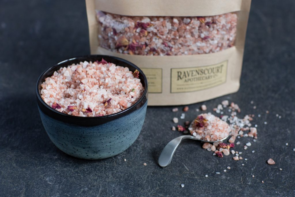 Moroccan Rose Bath Salt 1 kg - detail