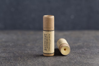 Unscented Vegan Lip Balm - front view