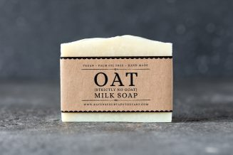 Oat Milk Soap Front