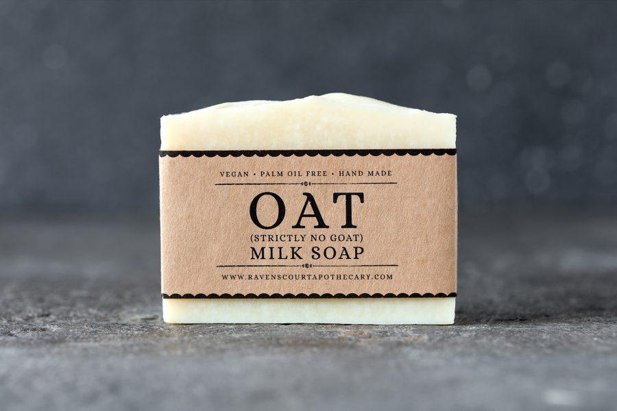 Oat Milk Soap Front