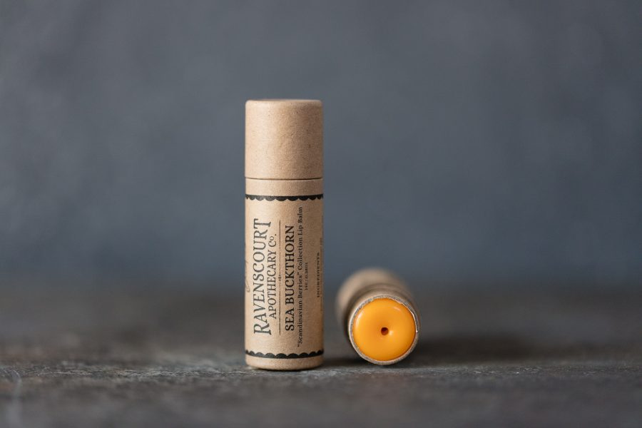 sea buckthorn lip balm - product photo